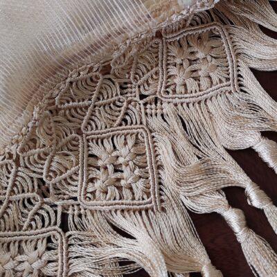 عبور الحرير مع مكرميه وهامش