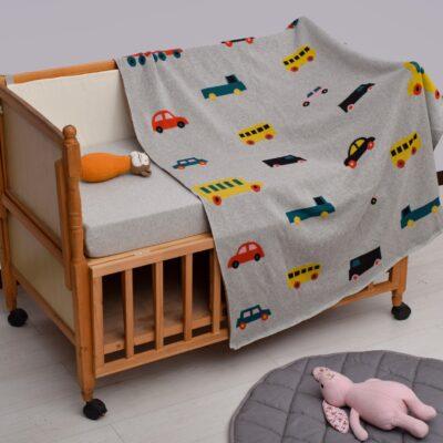 Κουβερτάκι Μωρού με Θέμα Οχήματα