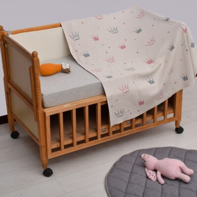 Κουβερτάκι Μωρού με Θέμα Κορώνα