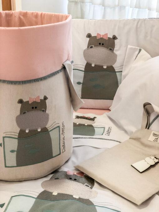 Věci dětské věno Raison D'être - Baby Girl Hippo