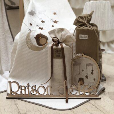 Věci Raison D'être Baby Dowry - Dreamy Owl