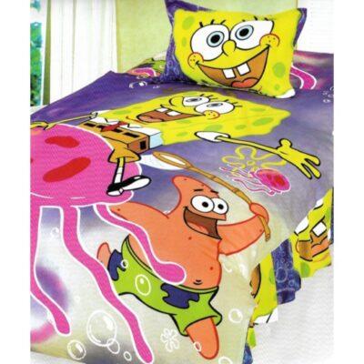 Duvet cover single with Bottom sheet Joy23 160x240 Sponge Sponge