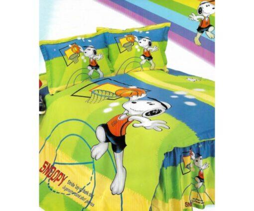 Παπλωματοθήκη μονή με Κατωσέντονο Joy23 160x240 Snoopy