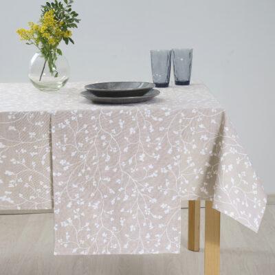 Code für Dekorationsartikel aus Baumwolle. 5131 Braun