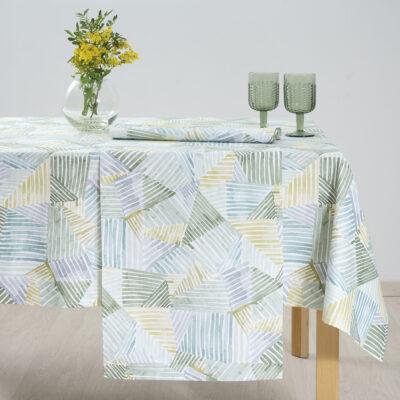 Code für Dekorationsartikel aus Baumwolle. 5133 Grün