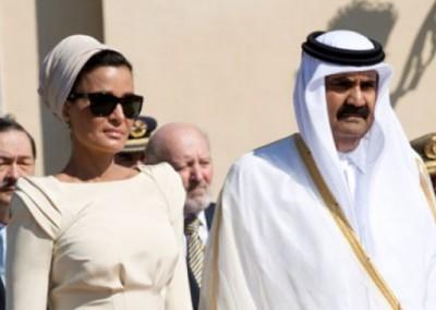Die persönlichen Bekanntschaften des Emirs von Katar in Karya Lefkada