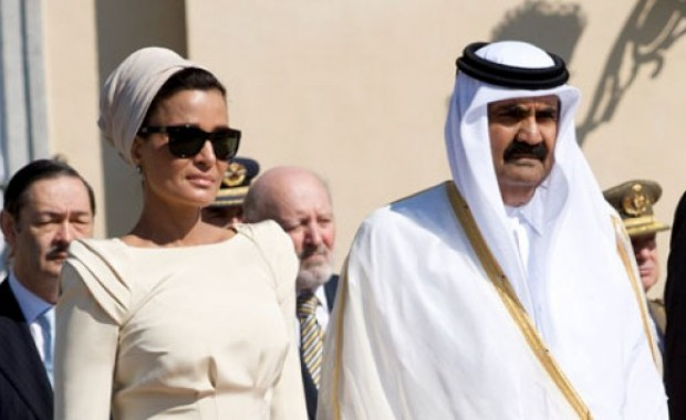 The personal acquaintances of the Qatar Emir in Karya Lefkada