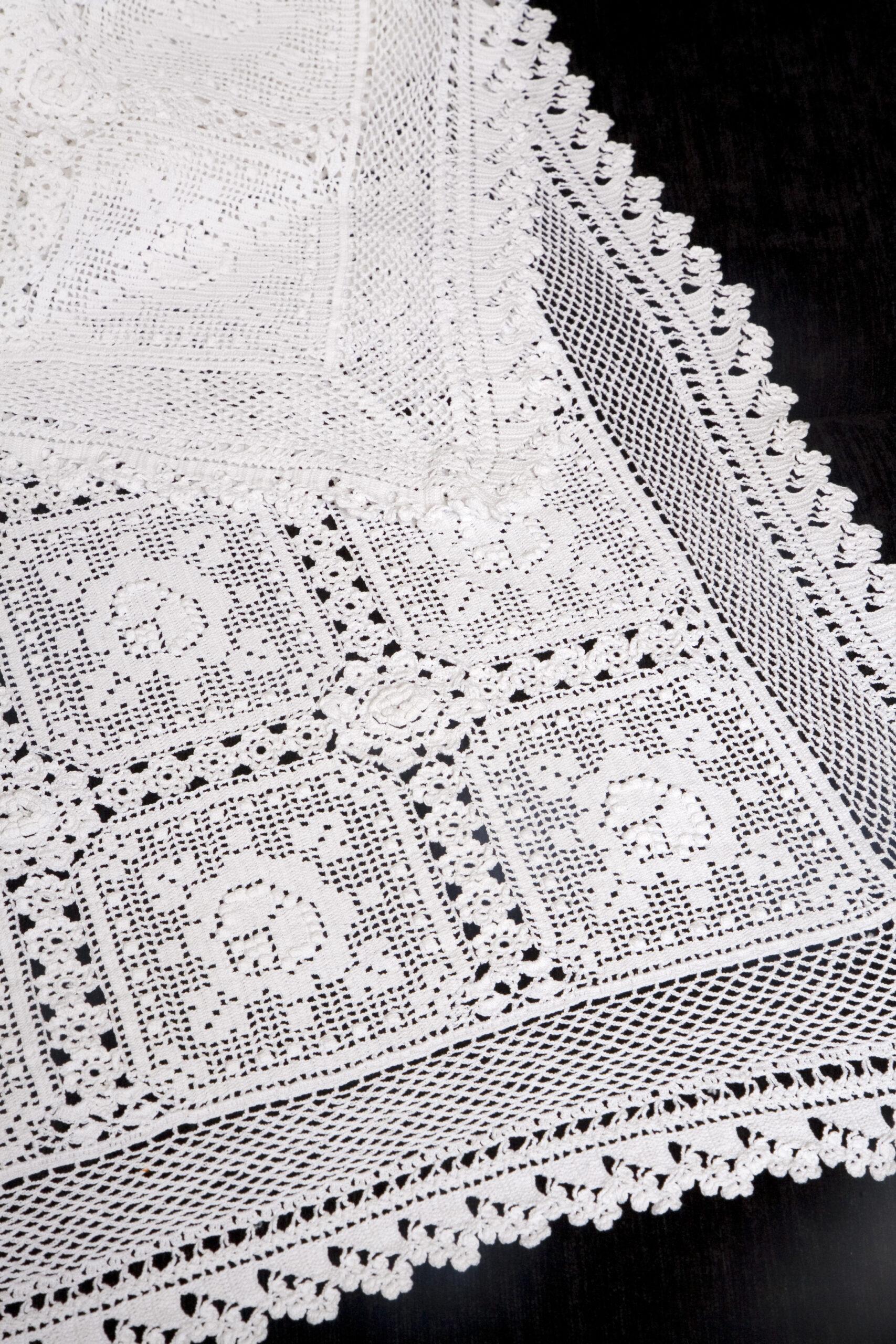Υπέρδιπλη Πλεκτή Κουβέρτα