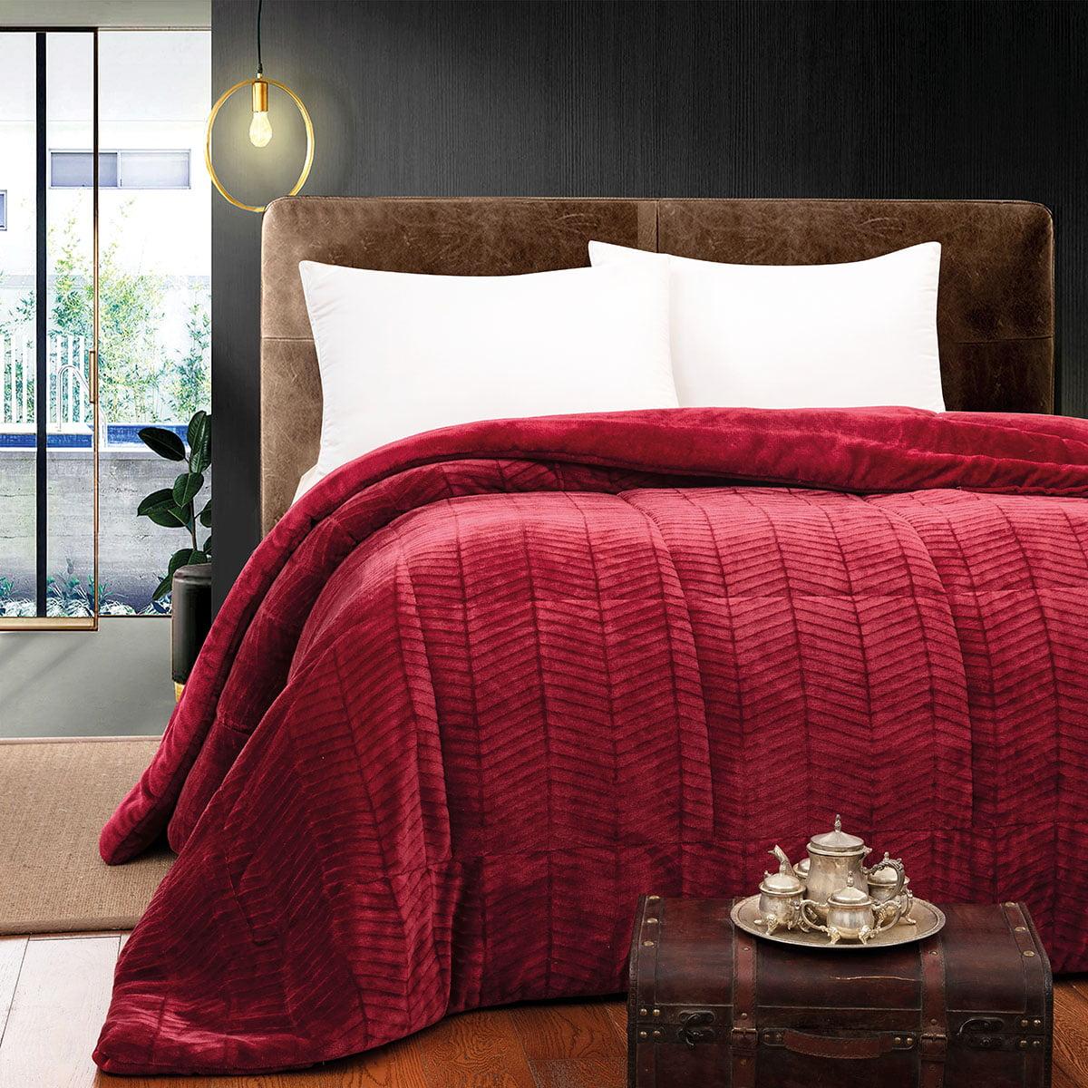 Κουβερτοπάπλωμα υπέρδιπλο Art 1792 220×240 Κόκκινο