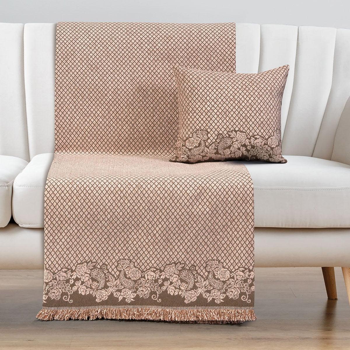 Ριχτάρια σετ 2τμχ Art 8341 (180×250 + 180×300) Ροζ