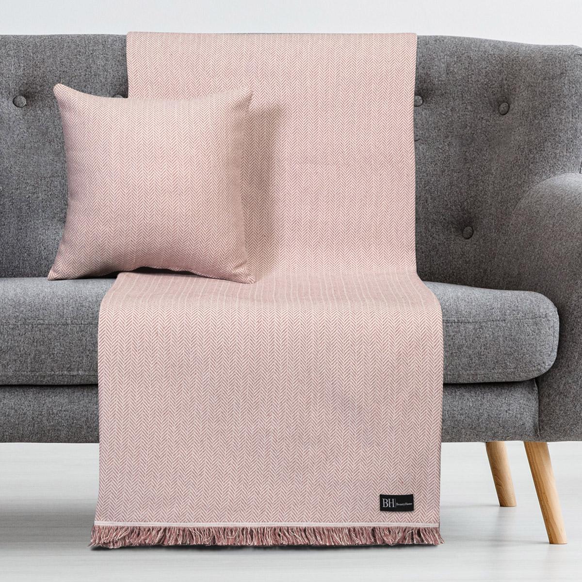 Ριχτάρια σετ 2τμχ Art 8361 (180×250 + 180×300) Ροζ