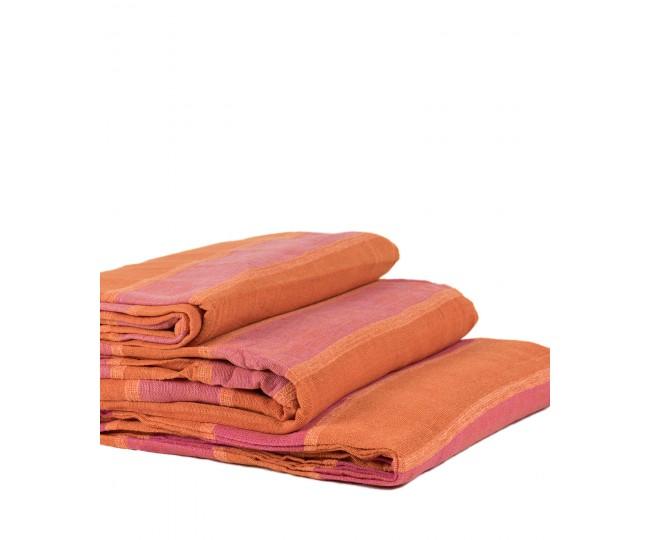Ριχτάρια Σετ 3 Τεμαχίων (150 x 180, 170 x 230, 170 x 270) Πορτοκαλί