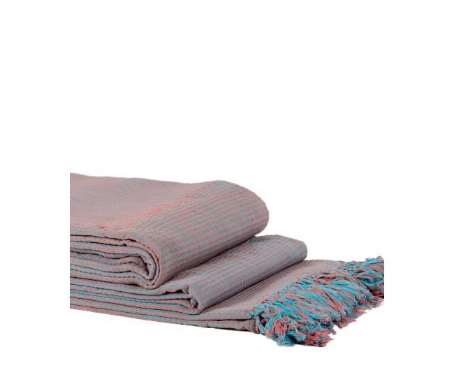 Ριχτάρια Σετ 3 Τεμαχίων Dobby (180 x 180, 180 x 250, 180 x 300) Μωβ/Λιλά