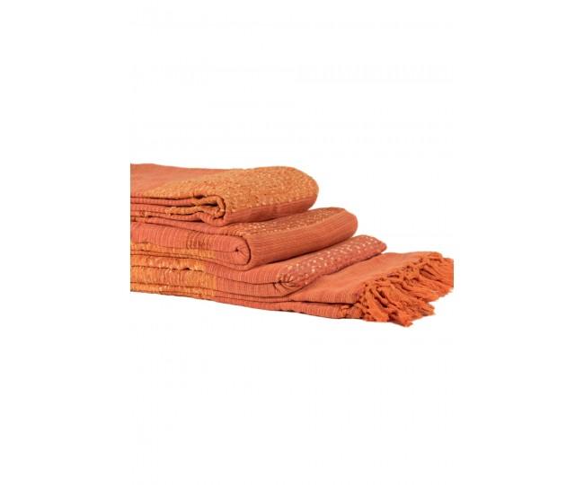 Ριχτάρια Σετ 3 Τεμαχίων Fancy (150 x 180, 170 x 230, 170 x 270) Πορτοκαλί